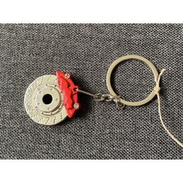 Breloczek brelok do kluczy tarcza hamulcowa