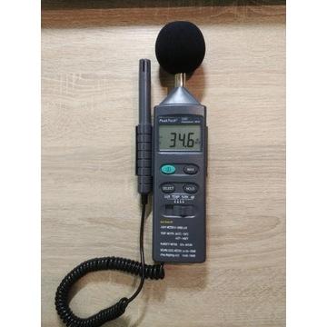 Miernik środowiskowy PeakTech 5035 - dźwięk itp