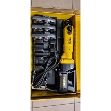 Zaciskarka Rems Power-Press wraz ze szczękami H16,