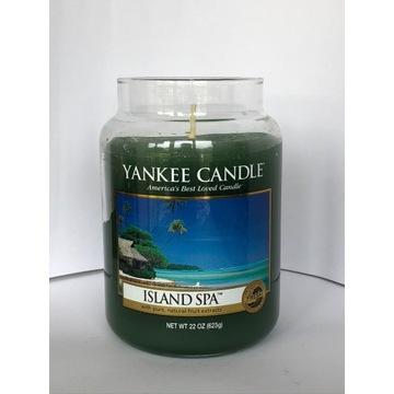 ISLAND SPA Yankee Candle duża świeca NOWA (2013)