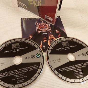 Slayer - Decade of Aggression LIVE 2 CD + bonus