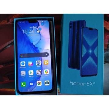 Smartphone Honor 8x, stan idealny
