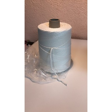 Gumo sznurek, gumka, guma biała 3mm