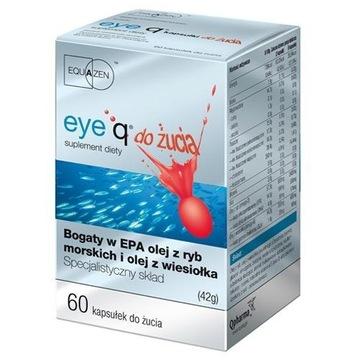 EYE Q x60 do żucia EyeQ koncentracja ADHD+ Gratisy