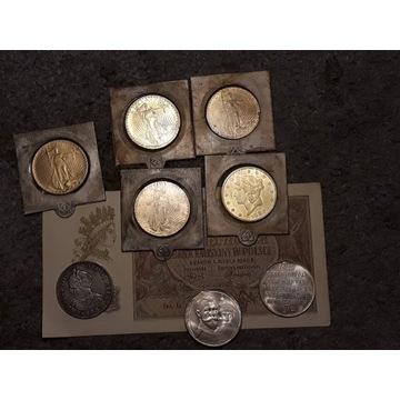 Zestaw monet po zbieraczu wyprzedaż staroci 1