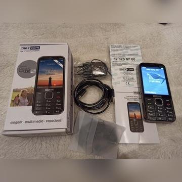 Maxcom mm330 telefon dla seniora klasyczny KOMPLET