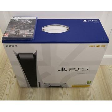 Playstation 5 PS5 BluRay DemonSouls od ręki Gdańsk
