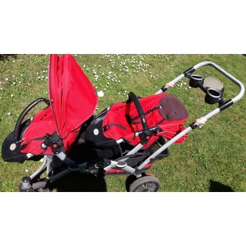 Wózek spacerowy podwójny marki Kol Craft