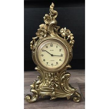 Stary mosiężny zegar