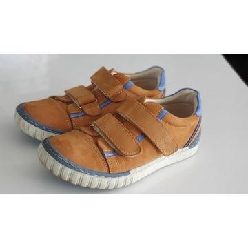 Prawie NOWE buty skórzane EMEL - śliczne r.32