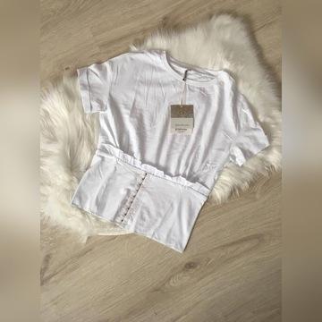 Bluzka klasyczna biała stradivarius nowa
