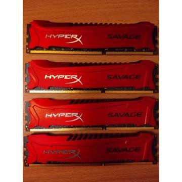 HyperX DDR3, 32 GB, 1866MHz, CL9 (HX318C9SRK4/32)