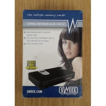 Czytnik kart pamięci CR006 Sweex