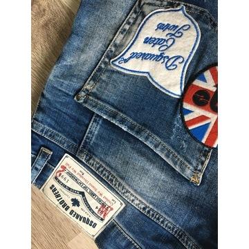 DSQUARED2 spodenki szorty jeans męskie ITALY 52
