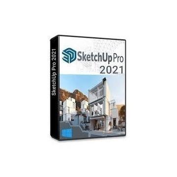 SketchUp Pro 2021 PL WIECZYSTA+ V-RAY 5
