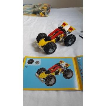 Lego Creator 3w1 quad , 31022 - kompletny