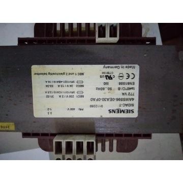 Transformator Siemens 400V 230V / 24V 772VA