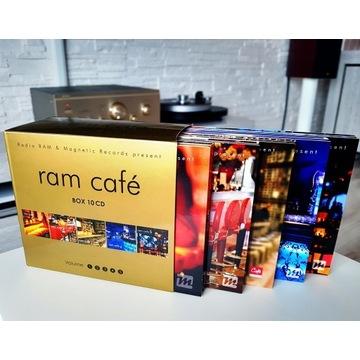 RAM CAFE BOX 1-5 (10cd) Stan idealny!