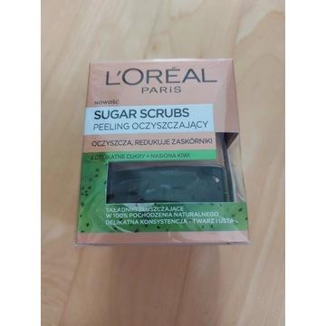 L'Oreal Paris - sugar scrubs peeling oczyszczający