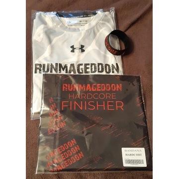Runmageddon Hardcore koszulka + bandana + opaska