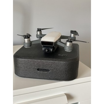 Dron DJI Spark Biały + Bateria i dodatki