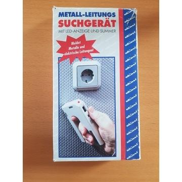 Wykrywacz przewodów metalowych, kabli