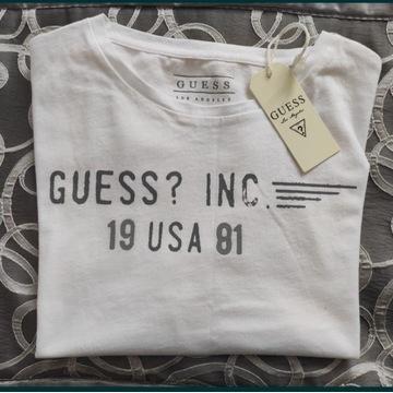 T-shirt męski Nowy firmy Guess rozm. L