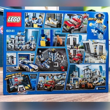Klocki LEGO City Posterunek Policji 60141