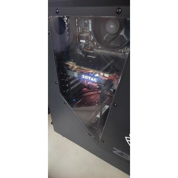 Komputer GTX 1080 16 GB RAM AMD RYZEN 5 1600 SSD