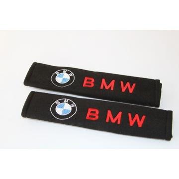 BMW nakładki na pasy bezpieczeństwa 2 sztuki Logo