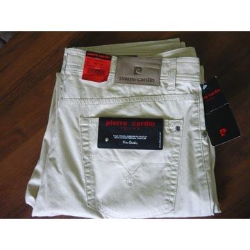 Spodnie jeans PIERRE CARDIN W40 L34 NOWE!! j,beż