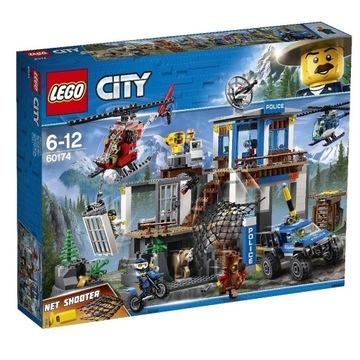 LEGO CITY 60174 Górski Posterunek Policji Nowy