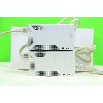 FREEBOX F-PL01A-0-MN, z zasilaczami12V/3.15A dLAN