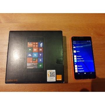 Microsoft Lumia 640 LTE Pomarańczowa - Idealna