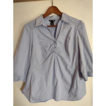Bluzka niebieska ciążowa H&M rozmiar M