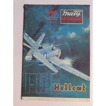 "Mały Modelarz nr 4/90 Grumman F6F ""Hellcat"""