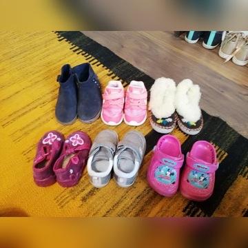 Buty rozmiar 22 dziewczęce