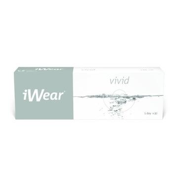 IWEAR VIVID (moc: -1.75) 1day soczewki 29 szt.