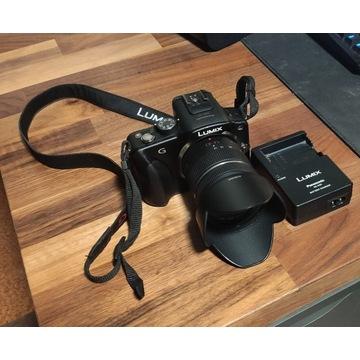 Panasonic Lumix DMC-G3 + obiektyw 14-42 1:3.5-5.6