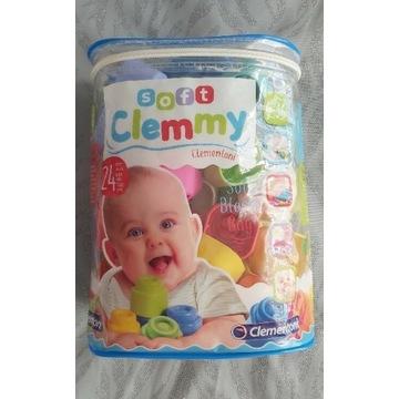 Klocki miękkie Soft Clemmy Clementoni