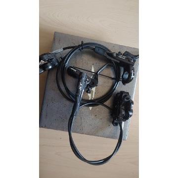 Hamulce xt 4 tłoczkowe m8000 br-m8020 przod i tyl