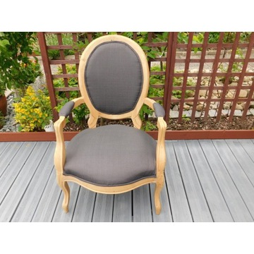 fotel/krzeslo z oparciami rokoko styl nr 1405 Fiaf