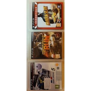 Gran Turismo 5 PS3 - 3 gry wyścigowe