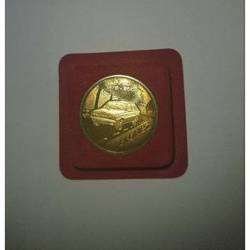 Moneta Polonez z serii Kultowe Polskie Samochody