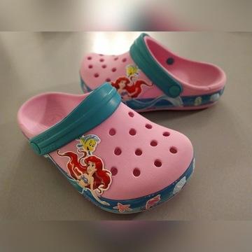 Crocs Princess Ariel 33/34 J2 różowe