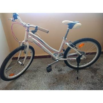 Aluminiowy rower dla dziewczynki 24 cale