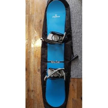 Deska, Snowboard JAGABALL + Wiązania + buty !!!