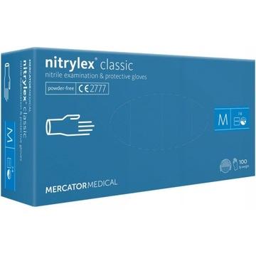 Rękawice Mercator Medical Nitrylex Classic 100sz M