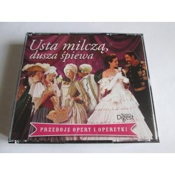 Usta Milczą ,Dusza Śpiewa -Przeboje Opery ..5 cd