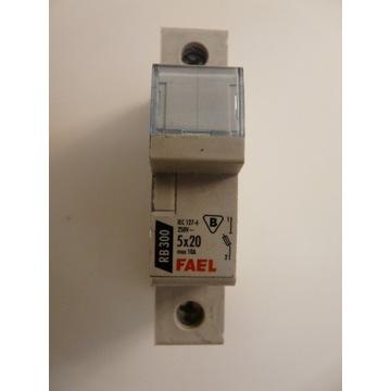 Rozłącznik bezpiecznikowy RB 300 5x20 max 10A